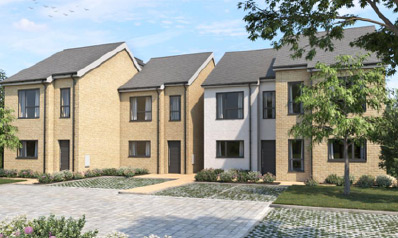 Coming soon, a 4-house development in Dartford